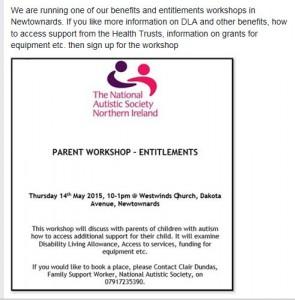 Benefits workshop