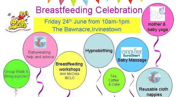 Enniskillen Castle Support Breastfeeding Awareness Week