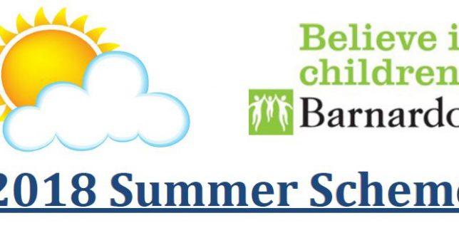 Barnardo's Summer Scheme – July 2018