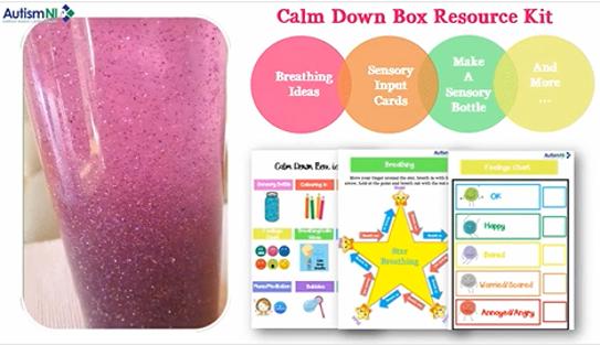 AutismNI Calm Down Box Ideas