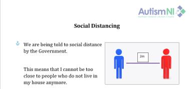 Explaining Social Distancing
