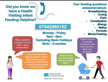 Health Visiting Infant Feeding Helpline
