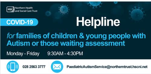 NHSCT Autism Helpline