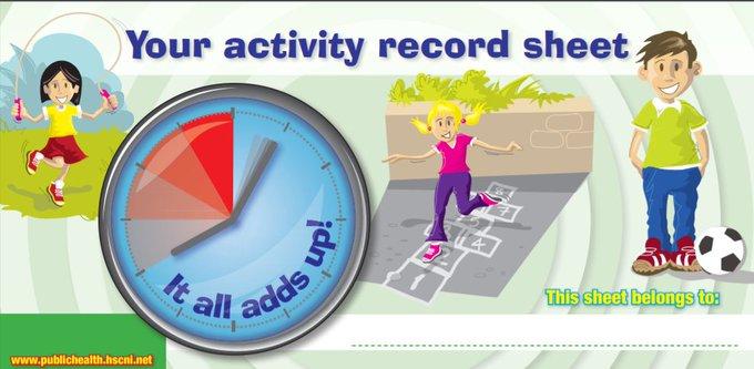 Activity Record Sheet