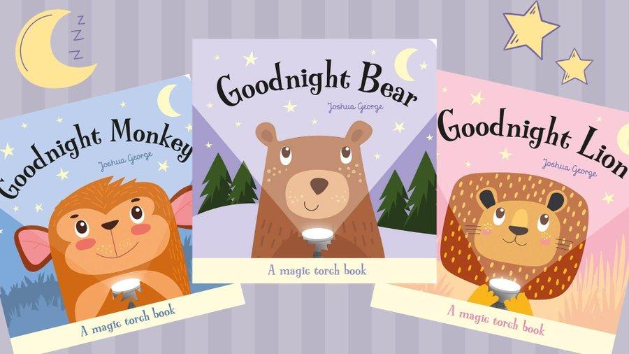 Book Trust – Win a beautiful trio of bedtime books