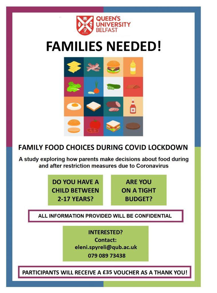 Family Food Choices Survey