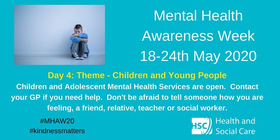 Mental Health Awareness Week Children & Young People