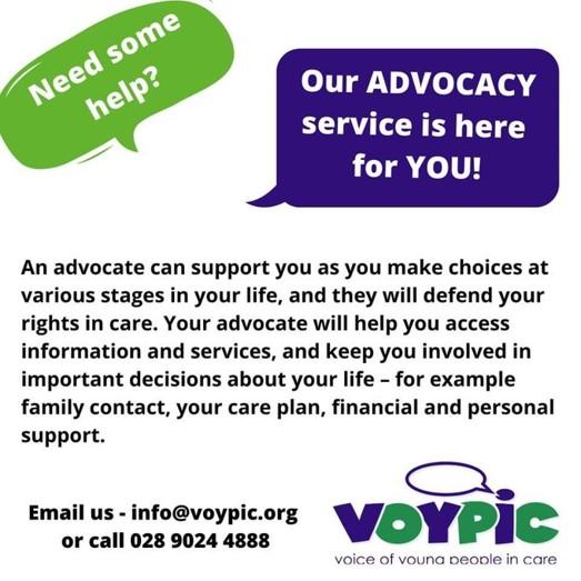 VOYPIC Advocacy