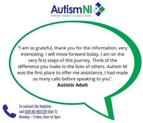 AutismNI – Helpline