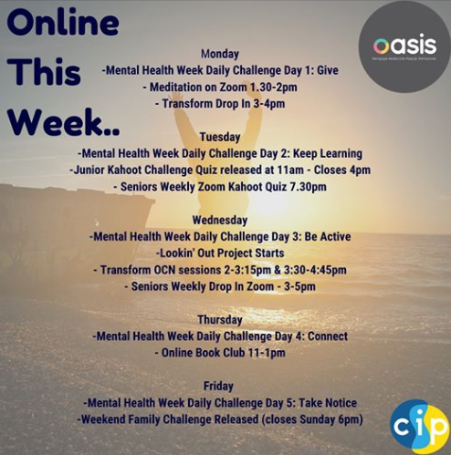 Mental Health Awareness Week Challenge