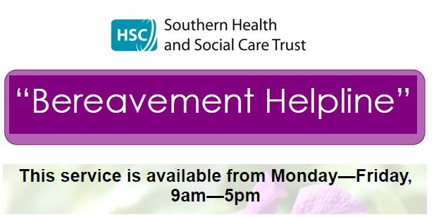 Southern Trust Bereavment Helpline