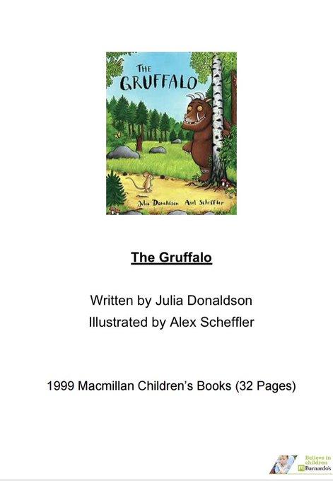 Homeschooling – THE GRUFFALO.
