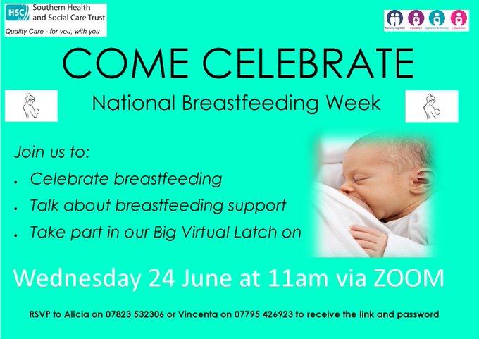 SHSCT – Celebrate National Breastfeeding week
