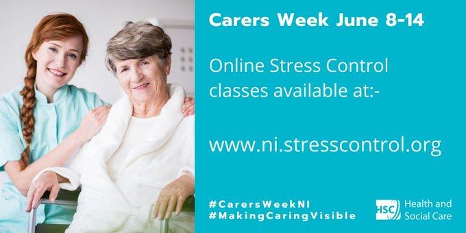 Online Stress Control Classes