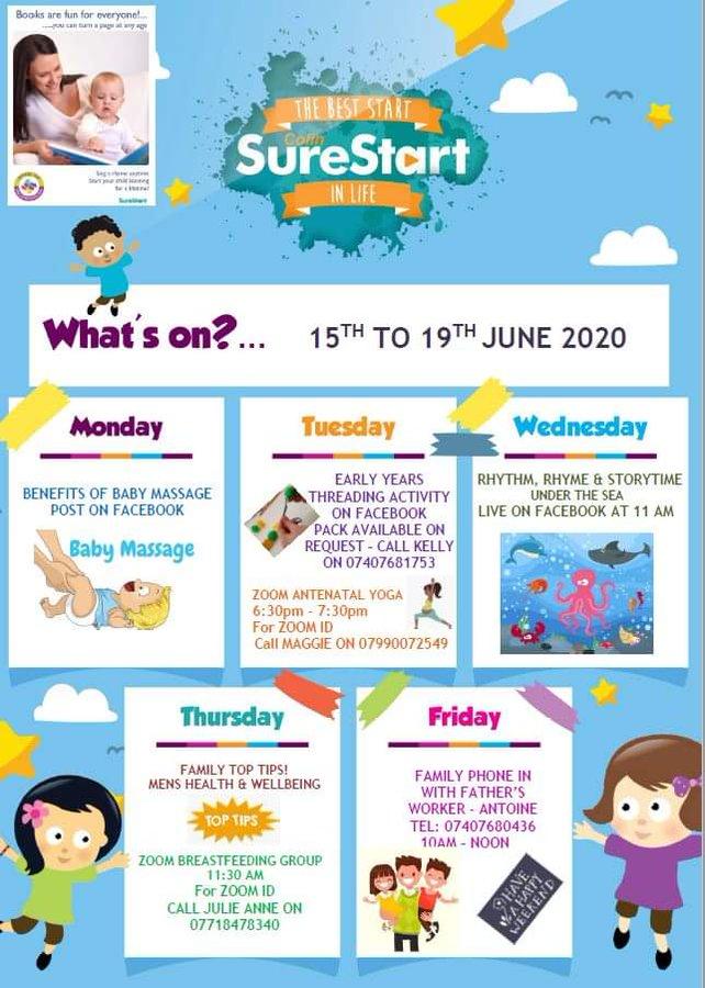 This week at Colin Sure Start