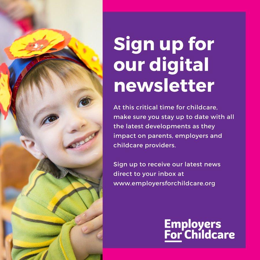 Employers for Childcare Digital Newsletter
