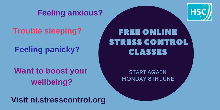 FREE Online Stress Control Classes