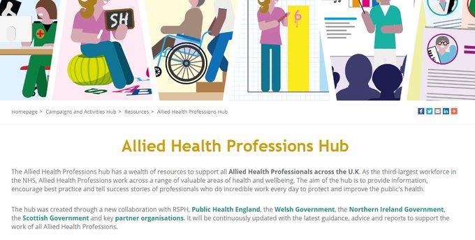 New Allied Health Professionals Hub