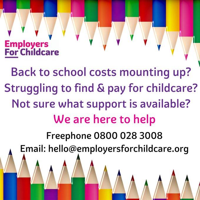 Back to School Financial Help