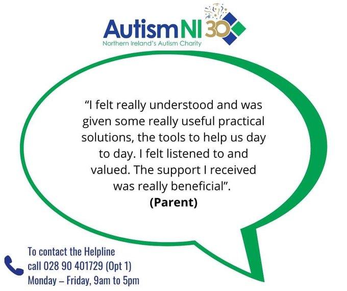 Autism NI – Helpline