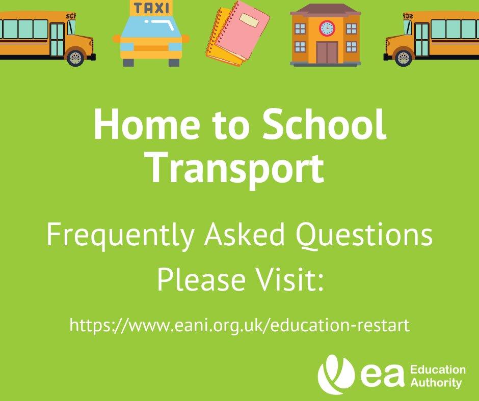 EA – Transport Helpline & FAQs