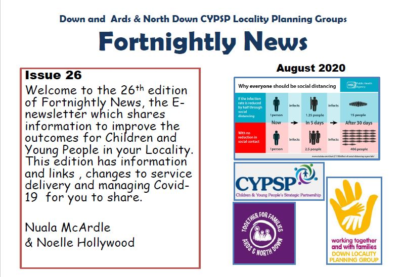 Fortnightly News – Issue 26