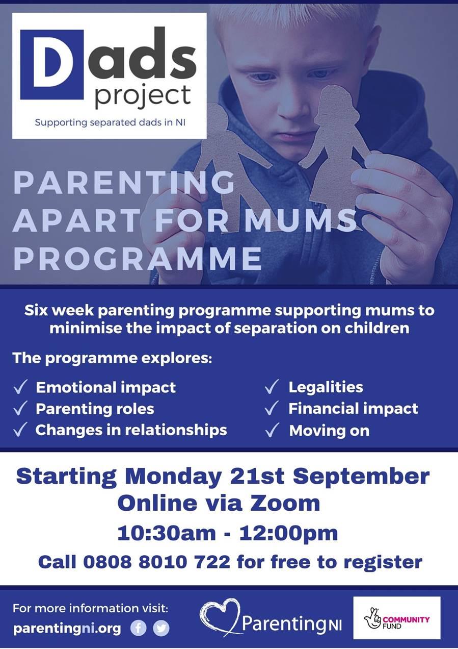 Parenting Apart For Mums Programme