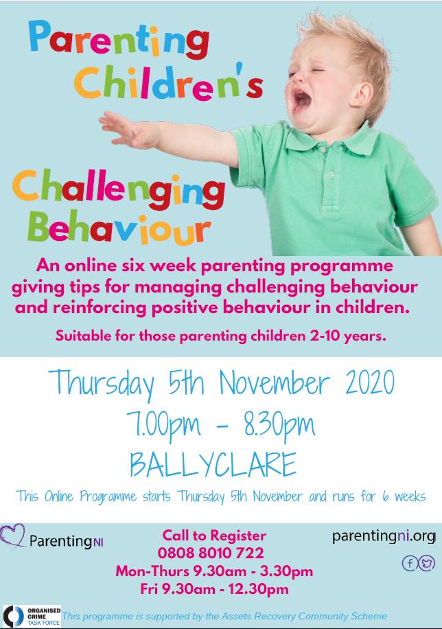 Parenting Children's Challenging Behaviour